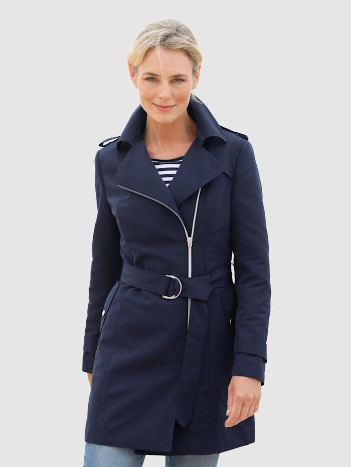 Dress In Jacke in klassischer Optik, Marineblau