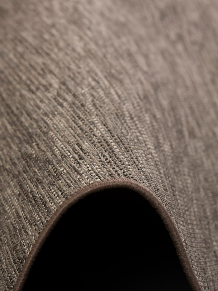 Sisal-Optik Designer Flachgewebe Teppich Pure Meliert