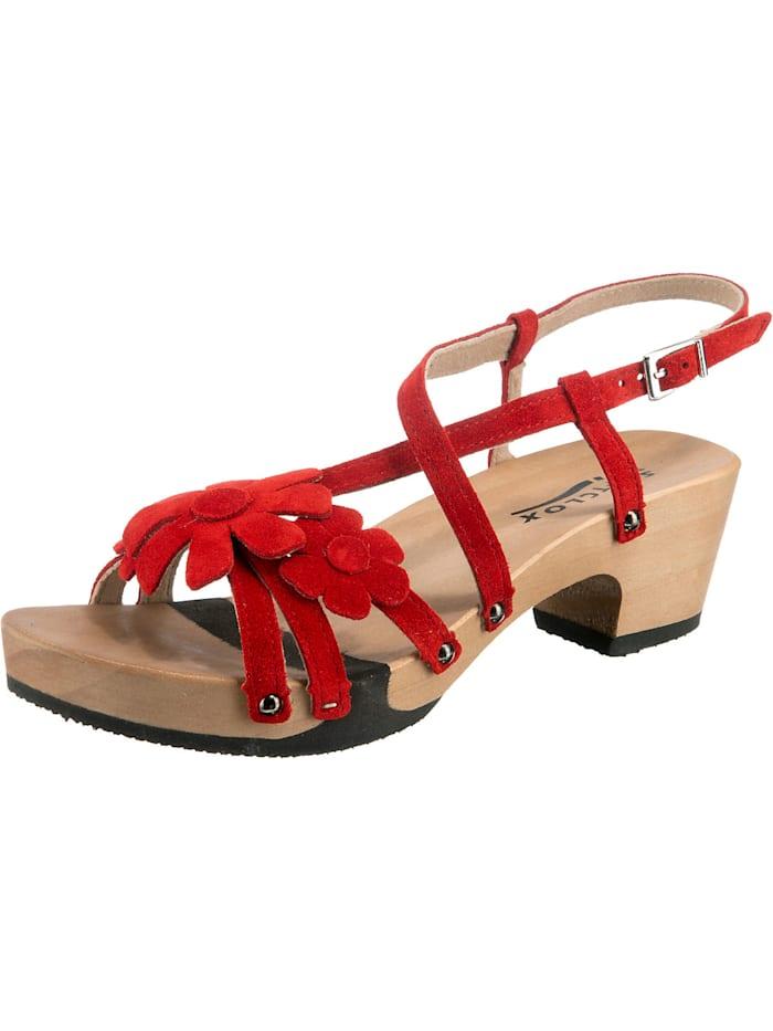 Softclox Kascha Klassische Sandaletten, rot