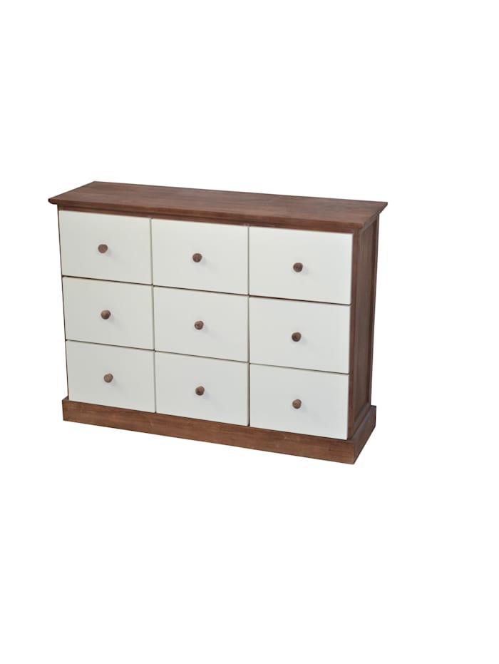 Möbel-Direkt-Online Kommode Ella II, nussbaumfarben