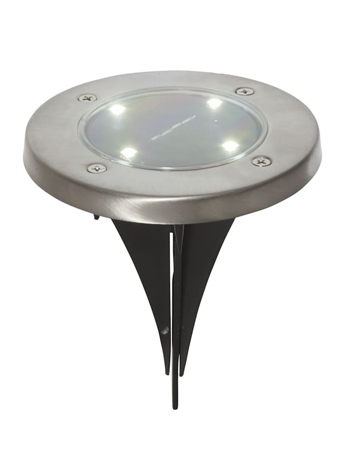 Star Trading Set van 3 solarlampjes, Zwart