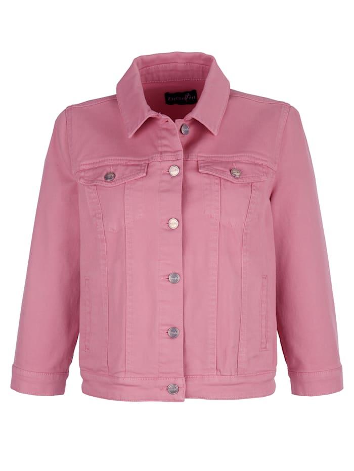 Jeansjacke im modernem Schnitt