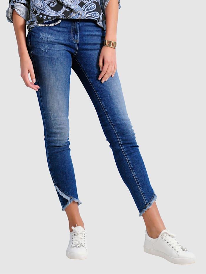 Alba Moda Jeans in Slim Fit model, Blauw
