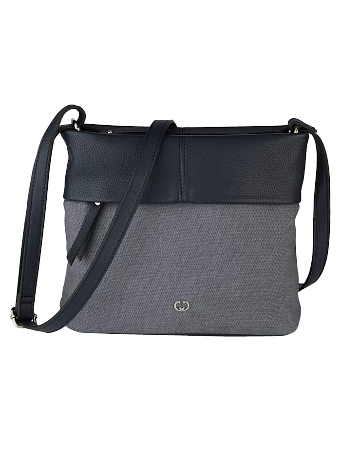 Gerry Weber Shoulder bag in a versatile design, Denim Blue/Navy