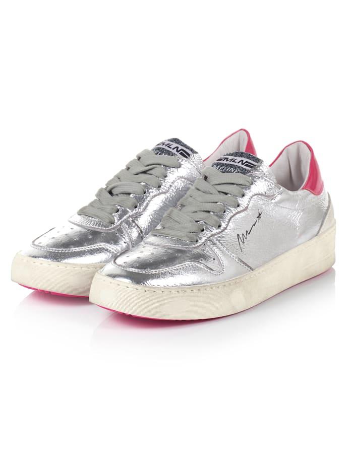 Méliné Sneaker, Silberfarben