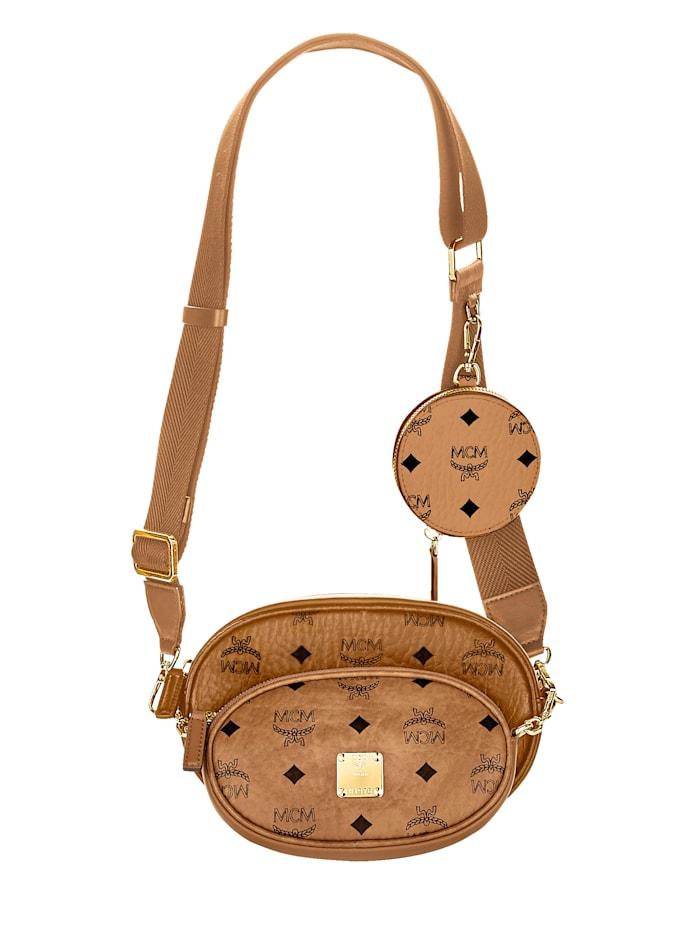 MCM Cross-Body-Bag, Cognac
