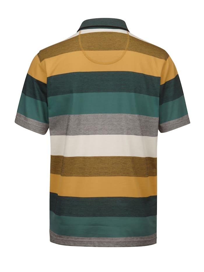 Poloshirt mit veredelter Baumwolle