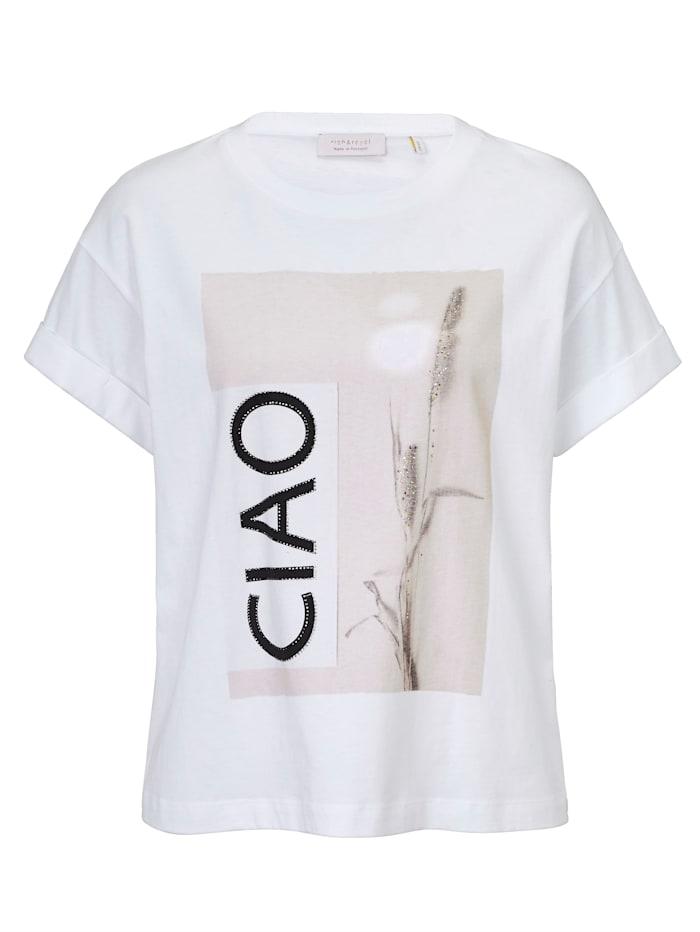 rich&royal T-Shirt, Off-white
