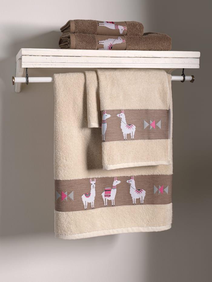 Dyckhoff Håndkleserie -Lama-, muldvarp