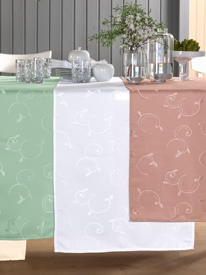 Webschatz Tischwäsche 'Zuri', weiß