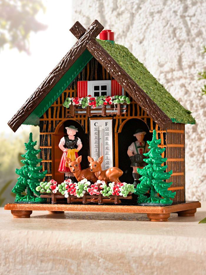 Maison météo style bavarois