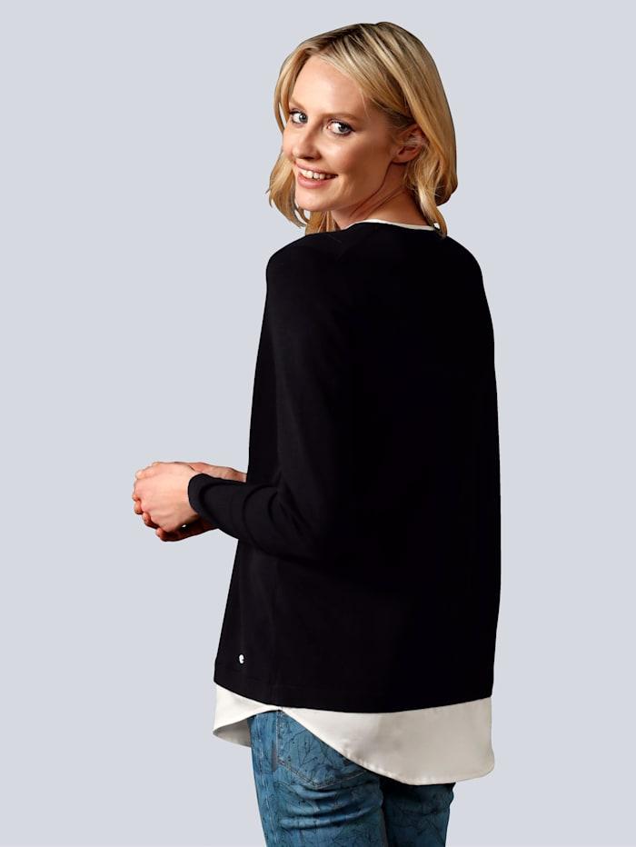 Pullover in modischer 2-in1-Optik