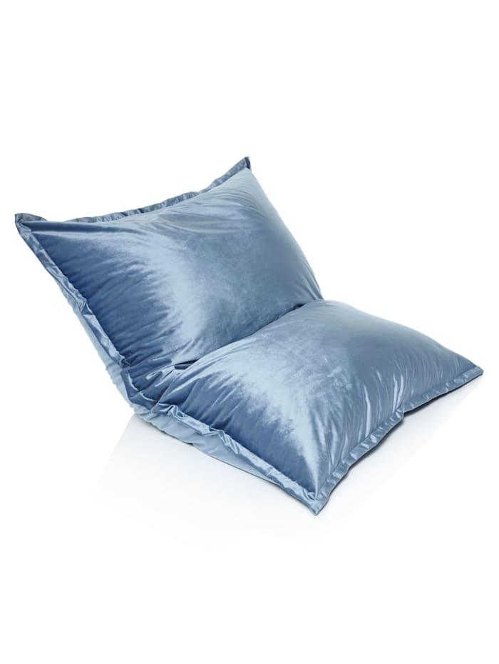 Sitzsack XXL, Samt, 140x120 cm