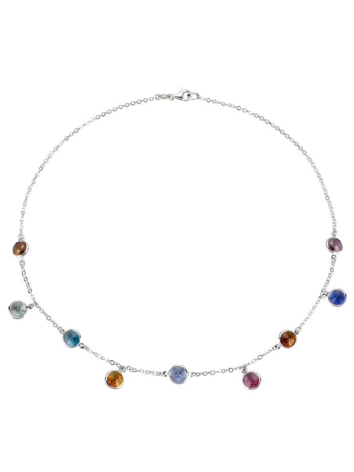 Collier mit Swarovski-Kristallen