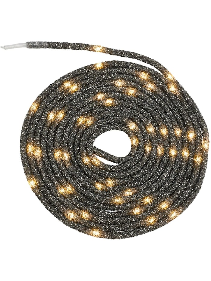 Living LED-Lichtschlauch, Anthrazit