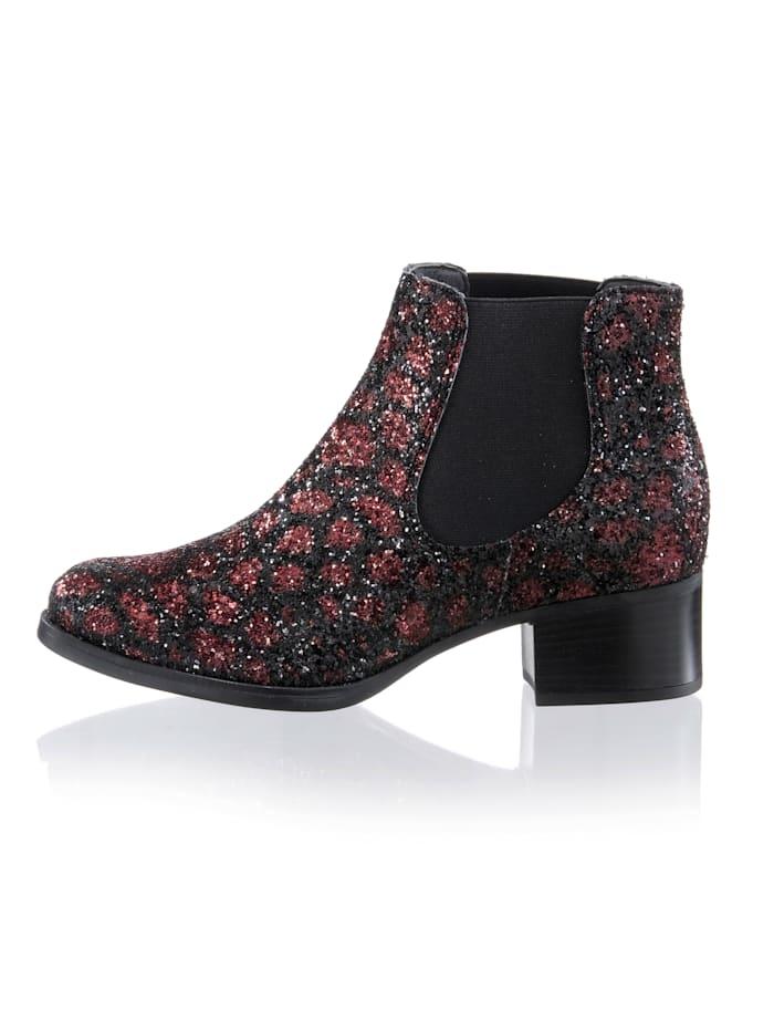 Boot in glitterlook