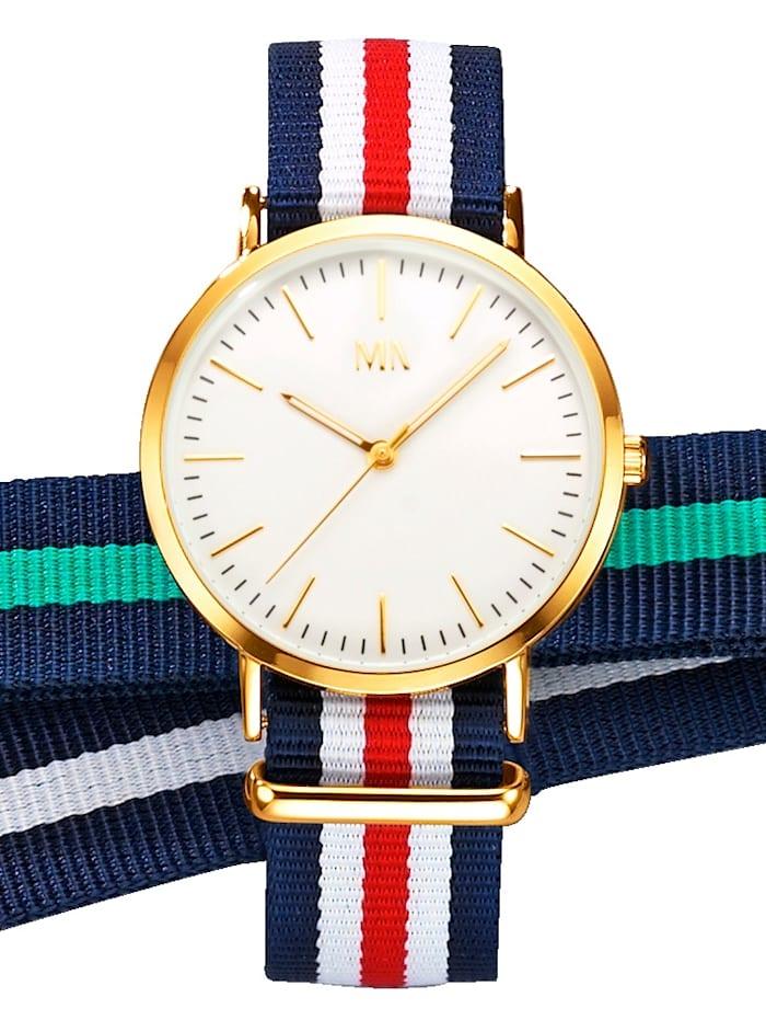 Meister Anker 3tlg Uhrenset, Multicolor