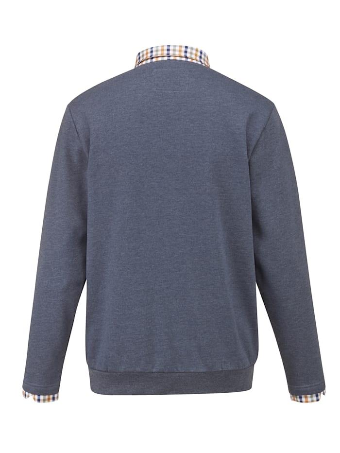 Sweat-shirt avec intérieurgratté très doux
