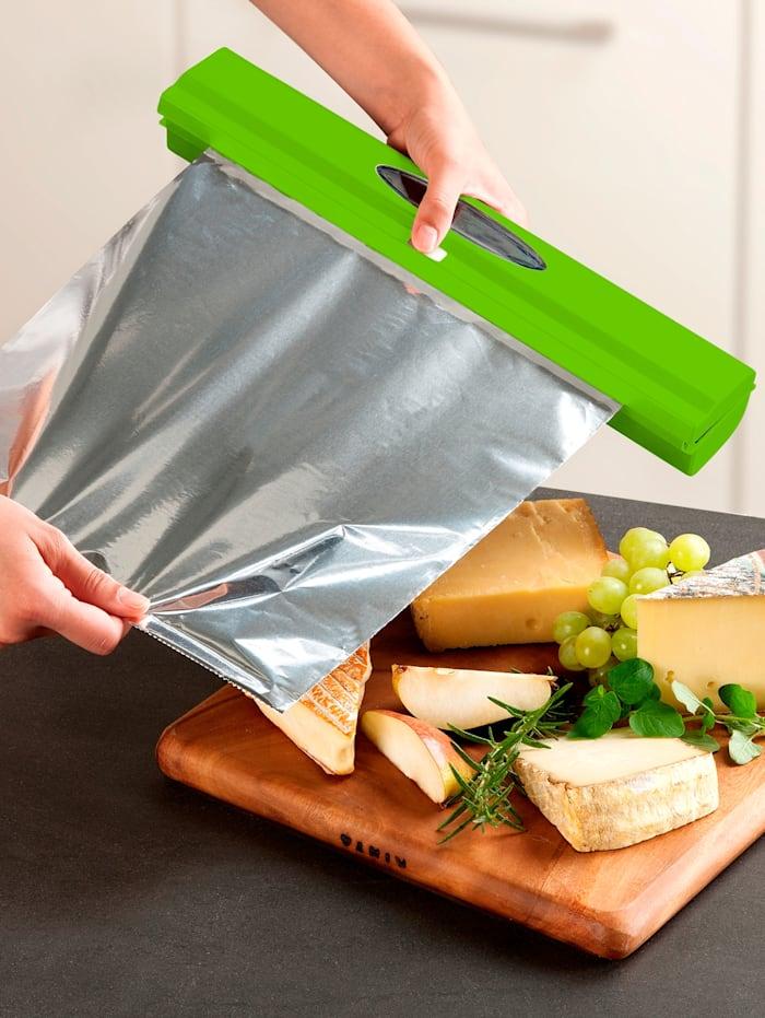Wenko Folieholder -Perfect-Cutter-, grønn, grønn