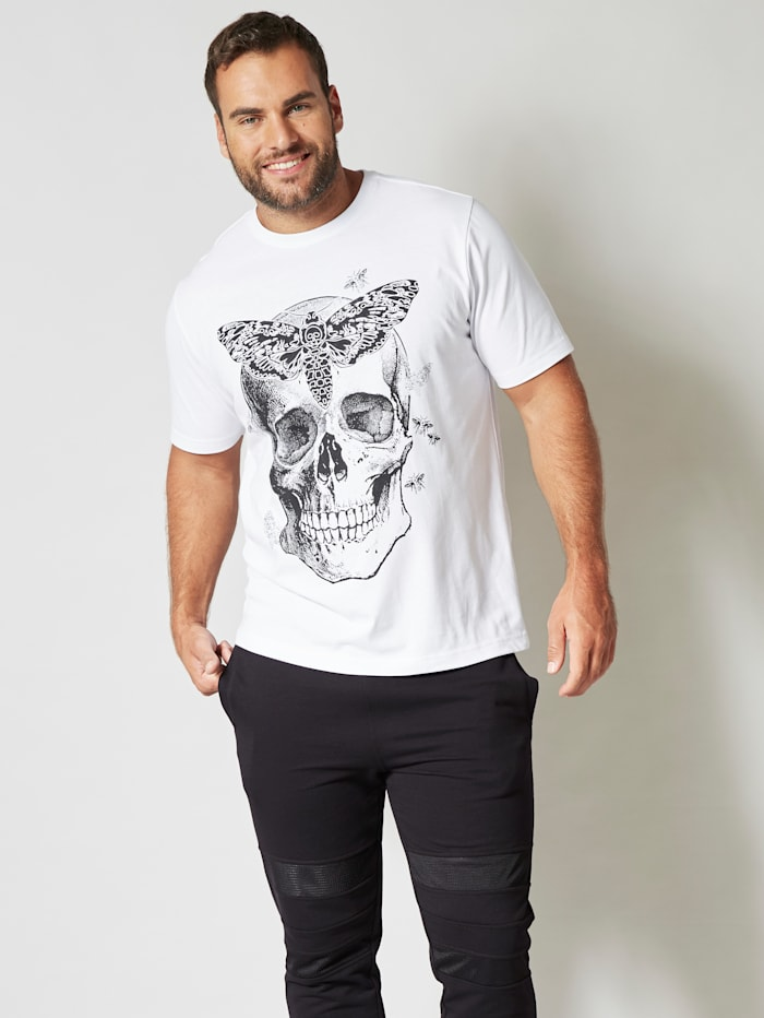 Pääkalloprintillinen T-paita