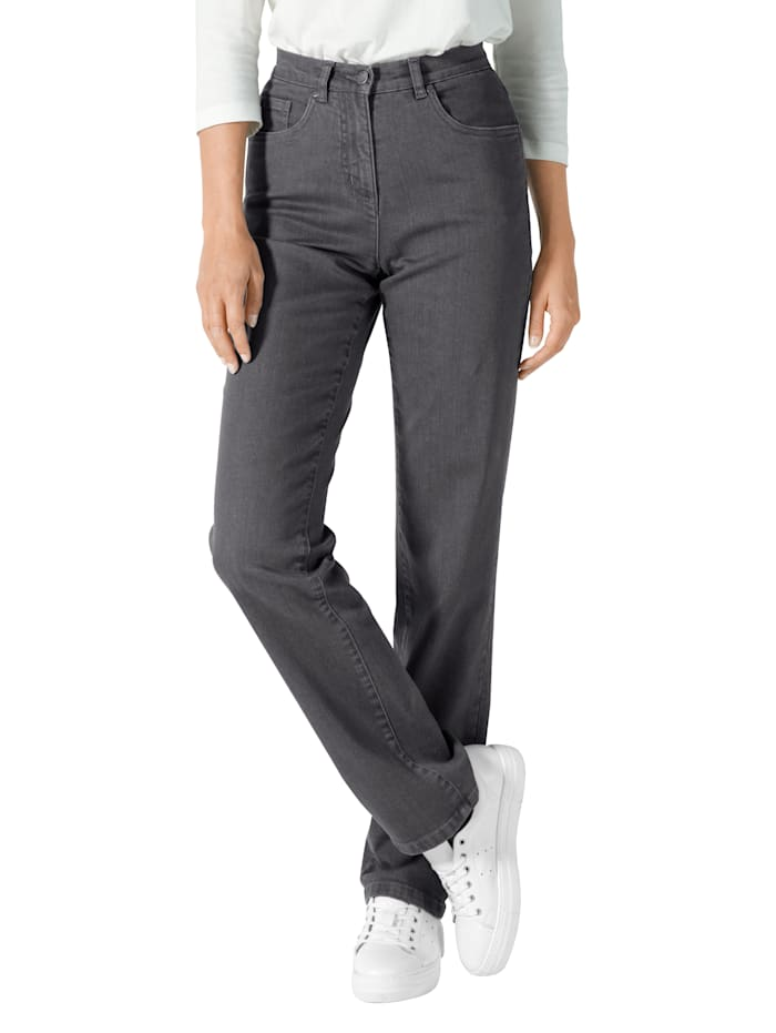 Paola Jeans in comfortabel model, Grey