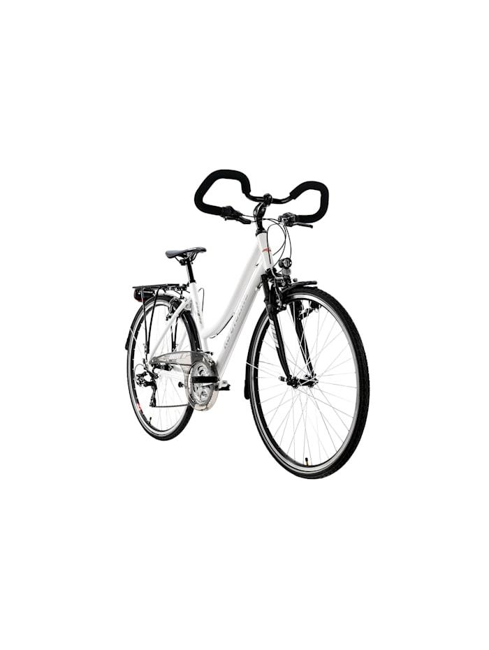 """KS Cycling Trekkingrad Damen 28"""" Canterbury 21 Gang weiß Multipositionslenker, weiß"""
