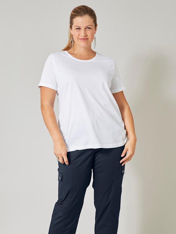 Janet & Joyce Shirt, Weiß