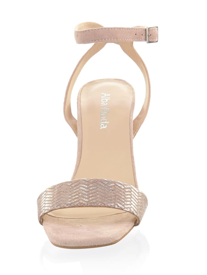 Sandalette aus Ziegenleder