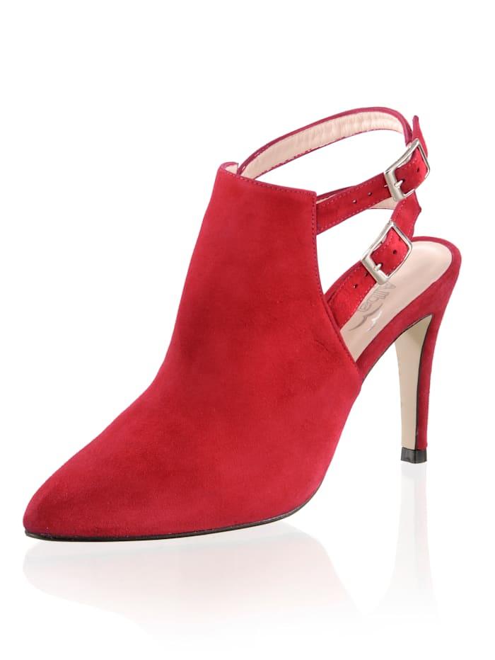Alba Moda Escarpins à brides, Rouge