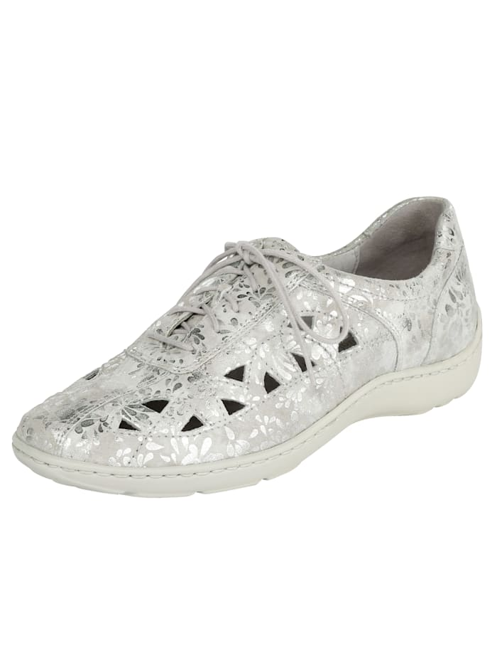Waldläufer Lace-up shoes, Silver-Coloured