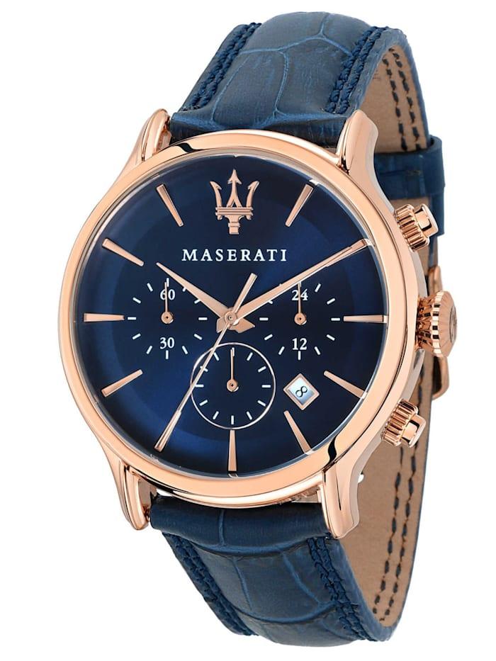 Maserati Herrenuhr Chronograph Epoca, Blau