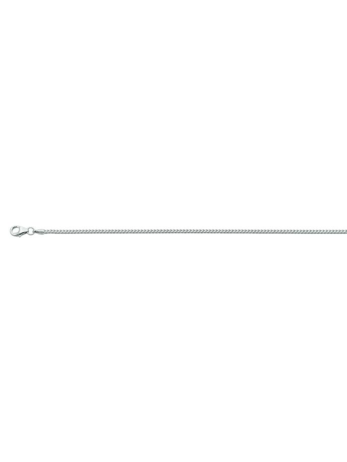 1001 Diamonds Damen Silberschmuck 925 Silber Bingo Halskette 42 cm Ø 1,5 mm, silber