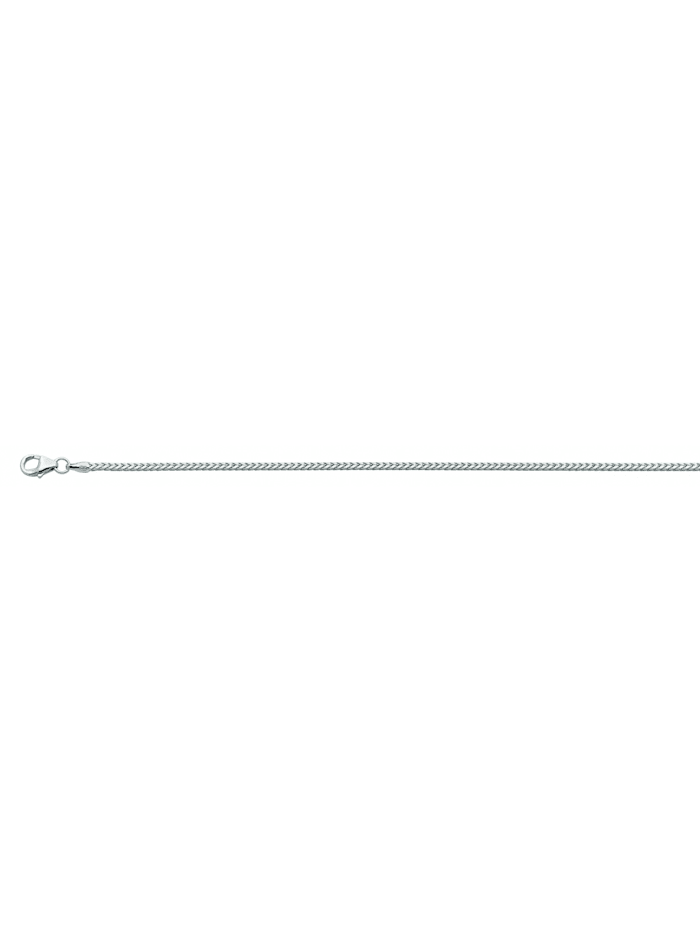 1001 Diamonds Damen Silberschmuck 925 Silber Bingo Halskette 45 cm, silber