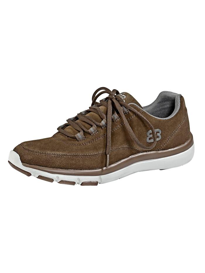 Sneakers en cuir souple