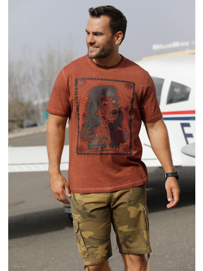 Printillinen T-paita puuvillaa