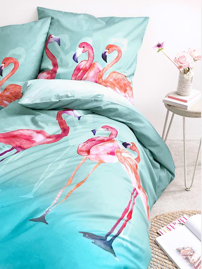 Bettwäsche, Flamingo
