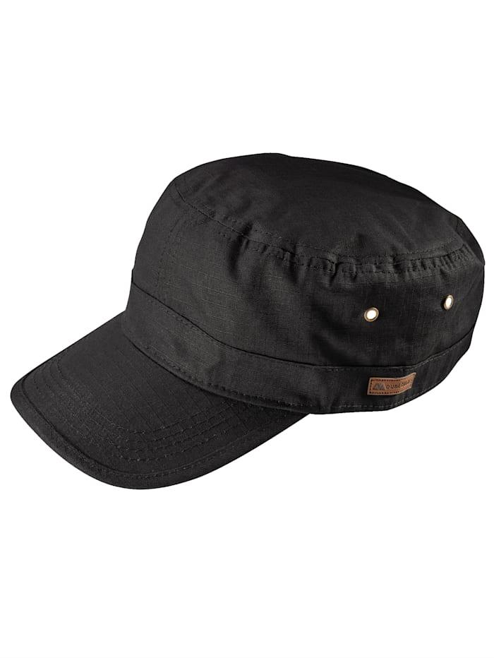 BABISTA Cap aus reiner Baumwolle, schwarz