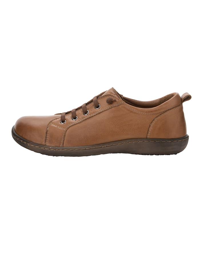 Skor med elastiska skosnören