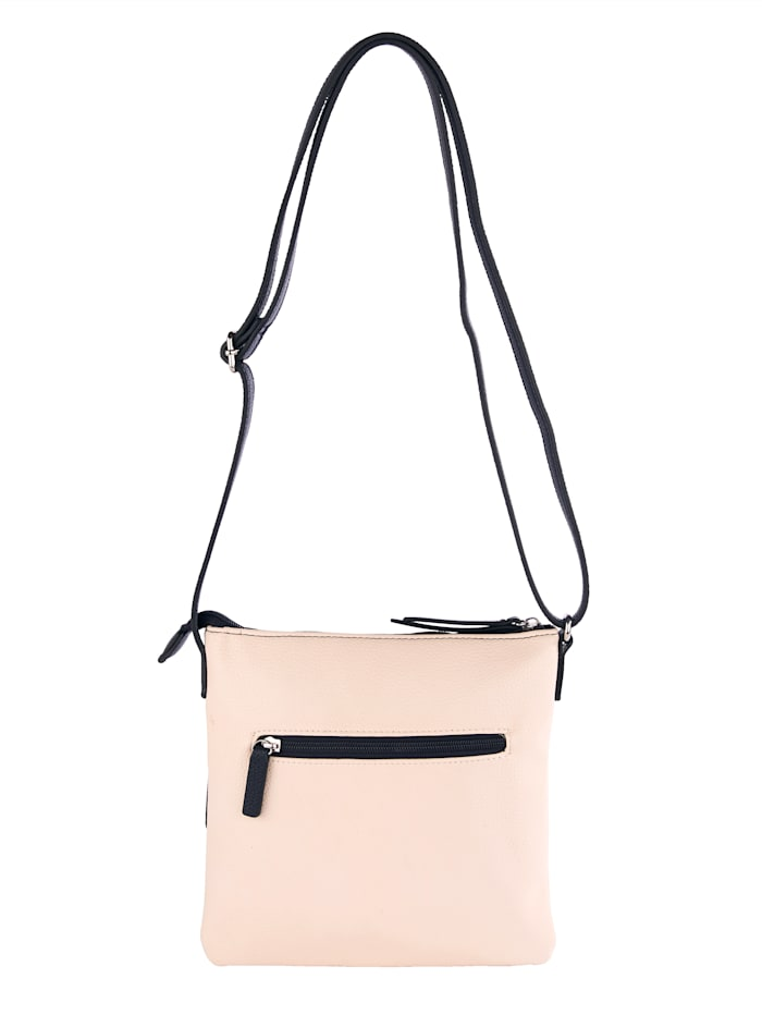 Shoulder bag made from a soft, premium fabric