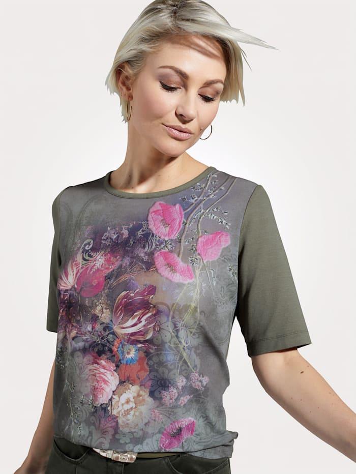 Shirt mit farbenfrohem Blütendessin