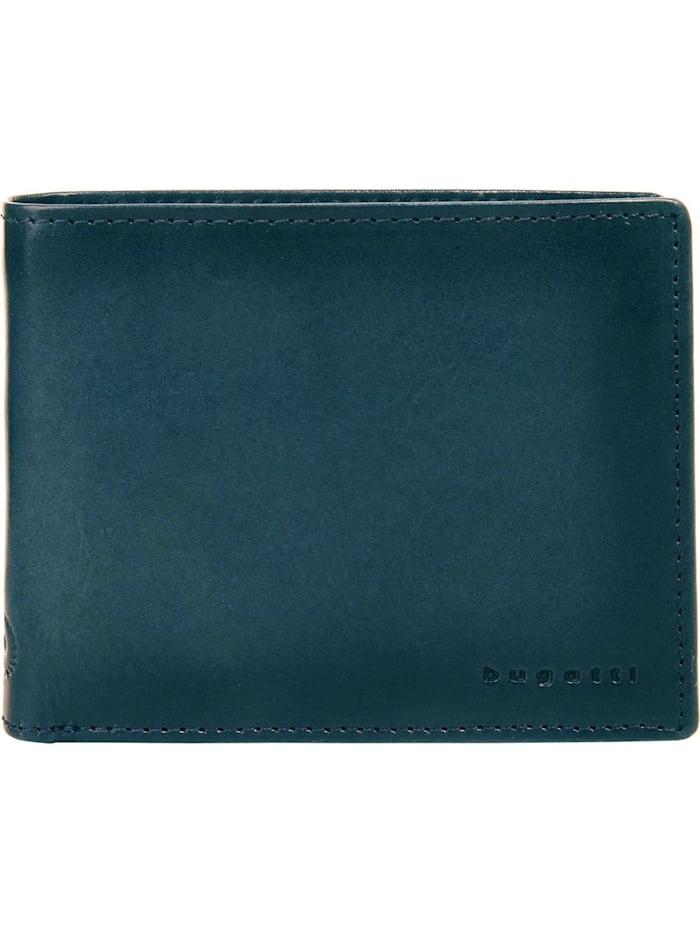 Bugatti Geldbörse DOMUS RFID, blau