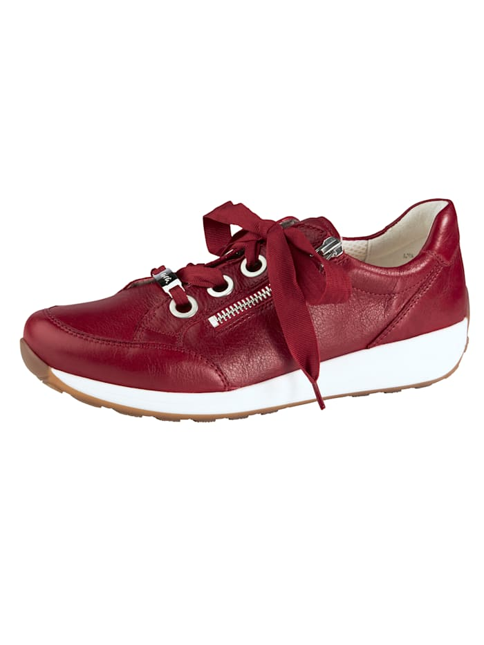 Ara Lace-up shoes with a soft insole, Red