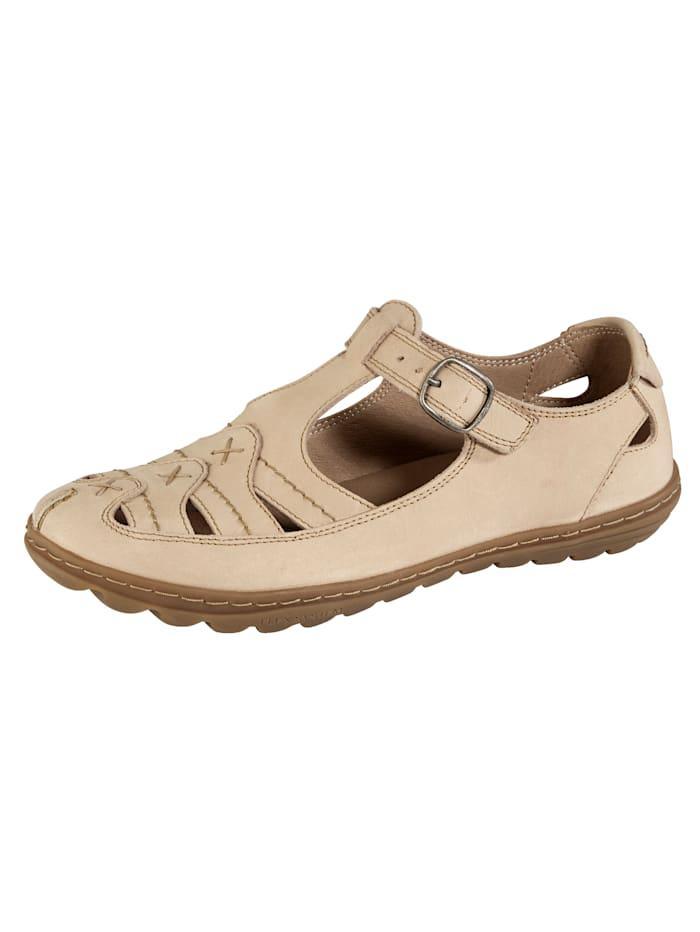 Naturläufer Sandale, Beige