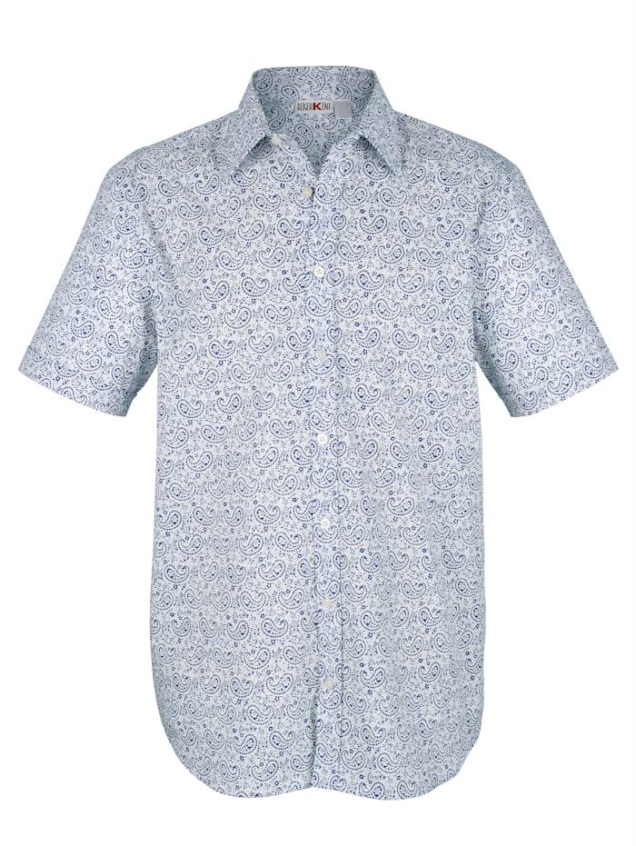 Hemd mit Paisleydruck