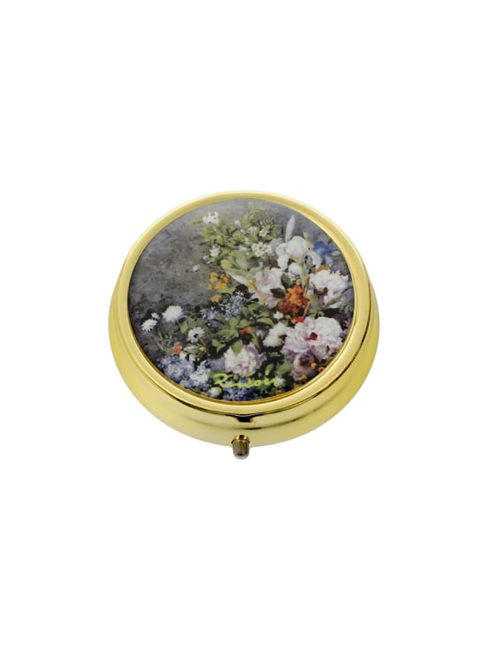 Goebel Goebel Pillendose Auguste Renoir - Frühlingsblumen, Renoir - Frühlingsblumen