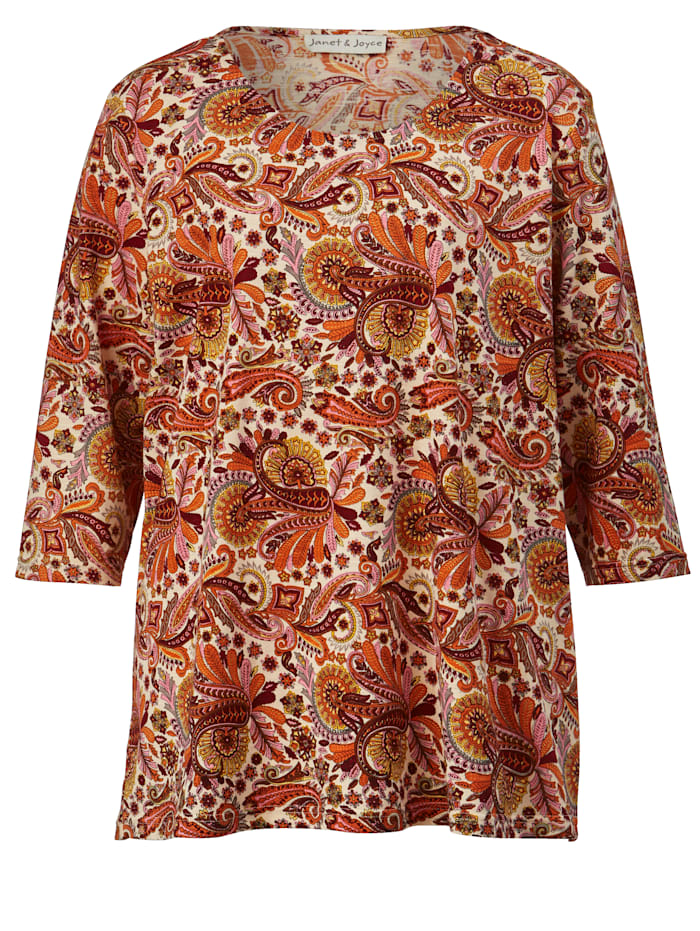 Shirt mit schönem Paisley Muster