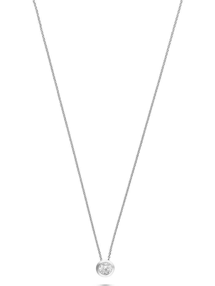 Jette JETTE Silver Damen-Kette 925er Silber 1 Zirkonia, silber