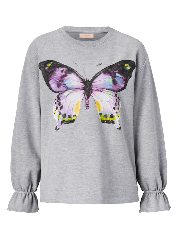 SIENNA Sweatshirt, Grau