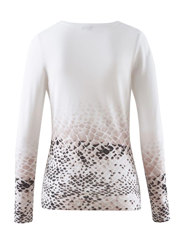 Pullover mit Animal Dessin