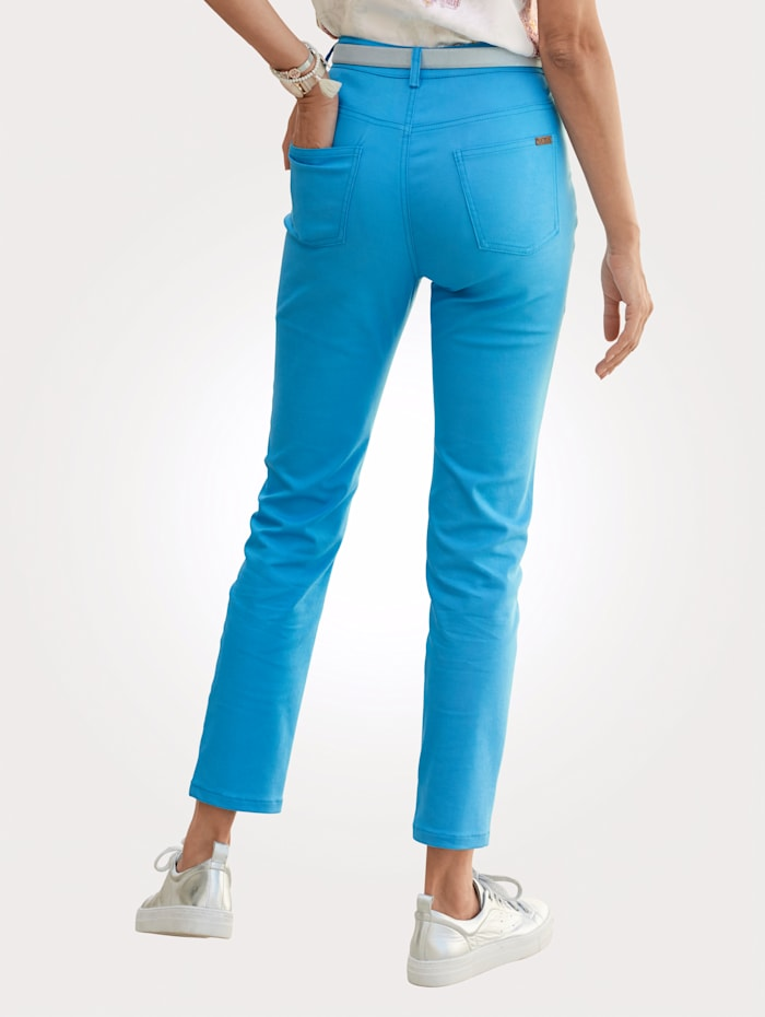 Pantalon en coton mélangé estival